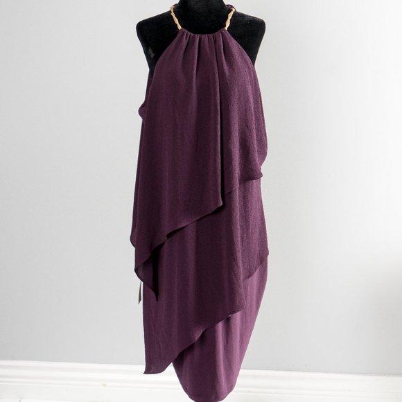 NWT gorgeous necklace cocktail dress -sz XXL